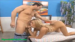 Big Onion Booty Camel Toe Blond Gets Big Ass Fucked And Cum On Tight Pussy PornZek.Com